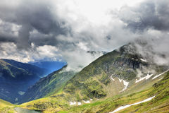 Beautiful summer landscape from Fagaras mountains Royalty Free Stock Photo