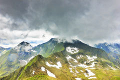 Beautiful summer landscape from Fagaras mountains Royalty Free Stock Image