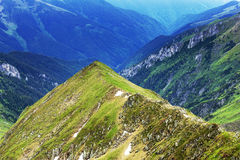 Beautiful summer landscape from Fagaras mountains Royalty Free Stock Images