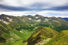 Beautiful summer landscape from Fagaras mountains Stock Photo
