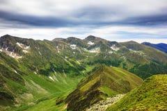 Beautiful summer landscape from Fagaras mountains Stock Photo