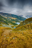 Beautiful summer landscape from Fagaras mountains Stock Photography
