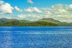 Beautiful summer landscape at Loch Lomond in Luss, Scotland, UK Stock Photography