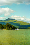 Beautiful summer landscape at Loch Lomond in Luss, Scotland, UK Stock Photos