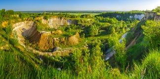 Beautiful summer landscape. royalty free stock image