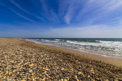 Beautiful summer landscape with the sea Royalty Free Stock Photos