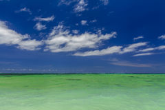 Beautiful summer landscape with the sea Royalty Free Stock Photography