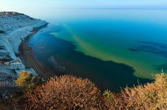 "Scala dei Turchi, Agrigento, Italy. Sandy beach under famed white cliff, called ""Scala dei Turchi"", in Sicily, near Agrigento, Italy Royalty Free Stock Image"