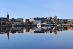 Beautiful summer morning in Luleå Stock Photo