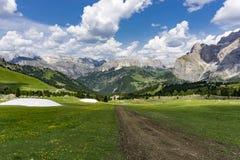 Beautiful summer mountain landscape. Dolomites. Italy. Beautiful summer mountain landscape. Dolomites. Italy Stock Photography