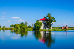 House on the lake(summer resort) Stock Photography