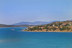 Beautiful Summer Scene. In Izmir ,Turkey Royalty Free Stock Images