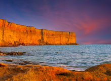 Beautiful summer seascape Stock Photography