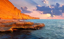 Beautiful summer seascape Stock Image