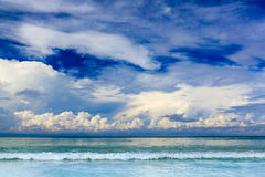 Beautiful summer seascape Royalty Free Stock Images