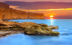 Beautiful summer seascape Royalty Free Stock Photography