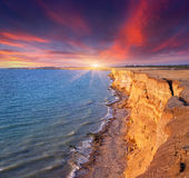 Beautiful summer seascape u Stock Photography