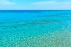 Beautiful summer seascape. royalty free stock photos