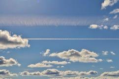Beautiful summer sky Stock Photography