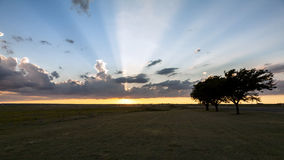 Texas Sunset Royalty Free Stock Images