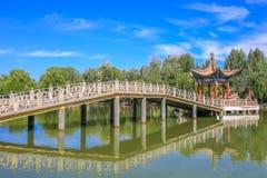 Beautiful Summer of West Lake in Hangzhou stock photos