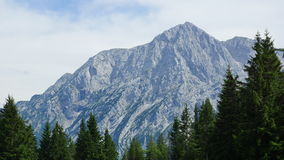 Beautiful summit of the mountains in summer Stock Photography