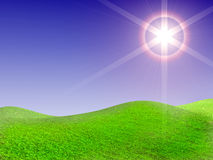 Beautiful sun day Royalty Free Stock Photos