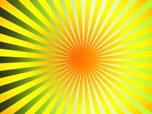 Beautiful sun rays Stock Photo