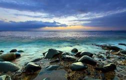 Beautiful sundown Stock Photos
