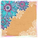 Beautiful sunflower background stock illustration