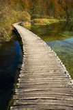Beautiful sunny autumn day near Plitvice Lakes Royalty Free Stock Images