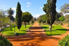 Argentina. Buenos Aires. Park. Rosedal de Palermo. Beautiful Sunny day in Buenos Aires, Argentina. Plenty of roses in the Rosedal de Palermo Park. Travelling stock image