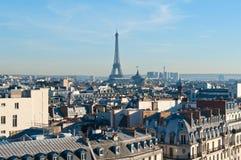 Beautiful sunny day in Paris Stock Photos