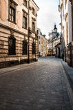 Beautiful sunny day in Wroclaw Royalty Free Stock Photo