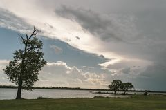 Lakeside View Royalty Free Stock Photo