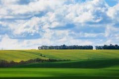 Beautiful sunny Stonehenge landscape England Royalty Free Stock Images