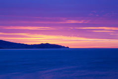 Beautiful sunrise in Andalusia in Spain Royalty Free Stock Photography