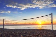 Beautiful sunrise. Beautiful sunrise on the beach Stock Photos