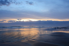 Beautiful sunrise at the beach. Royalty Free Stock Photography