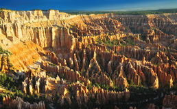 The Beautiful Sunrise at Bryce Point Stock Photo