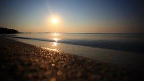 Beautiful sunrise. Dawn at sea. Morning seascape. Beautiful sunrise in the morning. hd. 1920x1080 stock footage