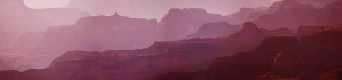Beautiful Sunrise in Grand Canyon, USA. Royalty Free Stock Photos