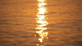 Beautiful sunrise on the island of Santorini stock footage