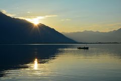 Lago Maggiore Italy Switzerland royalty free stock image