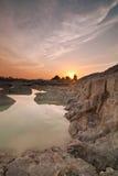 Beautiful sunrise at the lake Royalty Free Stock Photo