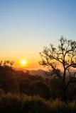 Beautiful Sunrise landscape view Royalty Free Stock Photos