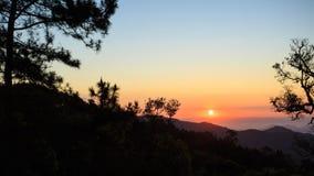 Beautiful Sunrise landscape view Royalty Free Stock Images