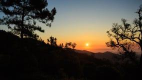Beautiful Sunrise landscape view Royalty Free Stock Photography