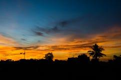 Beautiful sunrise Stock Photos