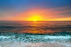 Beautiful sunrise. Beautiful sunrise over the horizon Royalty Free Stock Photography